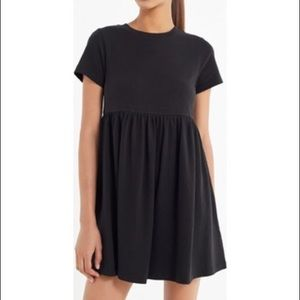 Urban Outfitters Black T shirt Dress Size Small